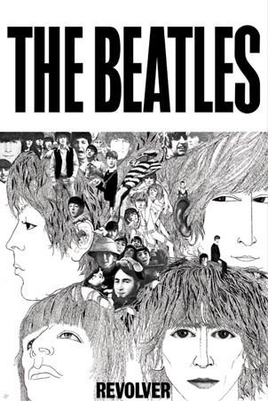 Revolver, The Beatles Poster - PopArtUK