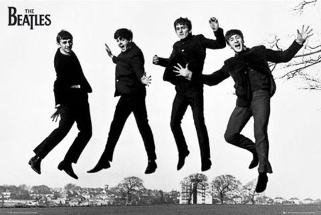 Another Famous Jump The Beatles Poster