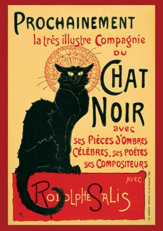 Tournee Du Chat Noir Turn Of The Black Cat