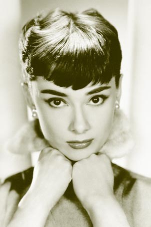 Close-up, Audrey Hepburn Poster - Buy Online