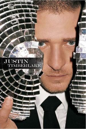Justin Timberlake Mirror Ball Justin Timberlake Poster Popartuk