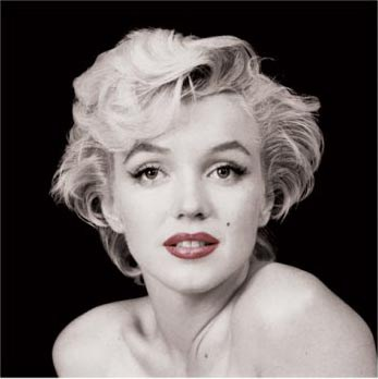Marilyn Monroe Face Shoulders