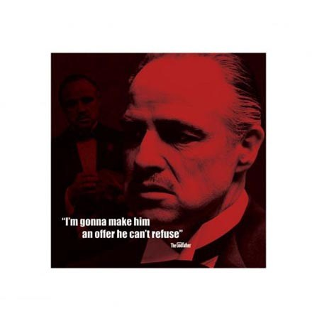 Im Gonna Make Him An Offer He Cant Refuse The Godfather Print