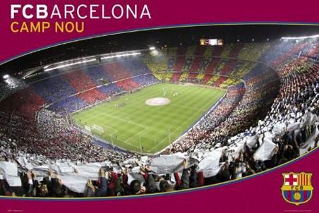 camp nou fc barcelona poster popartuk camp nou fc barcelona poster popartuk